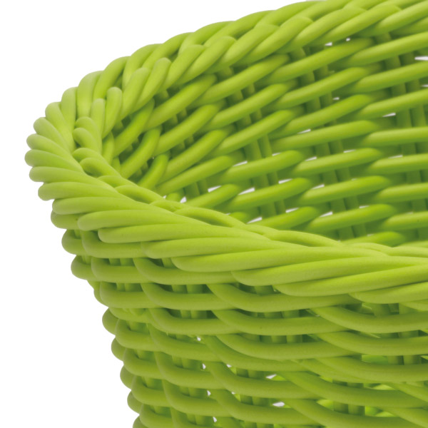 Корзина овальная Saleen BASKETS IN TREND COLOURS, 23,5х18х8 см, зеленый Saleen 020961 371 фото 1