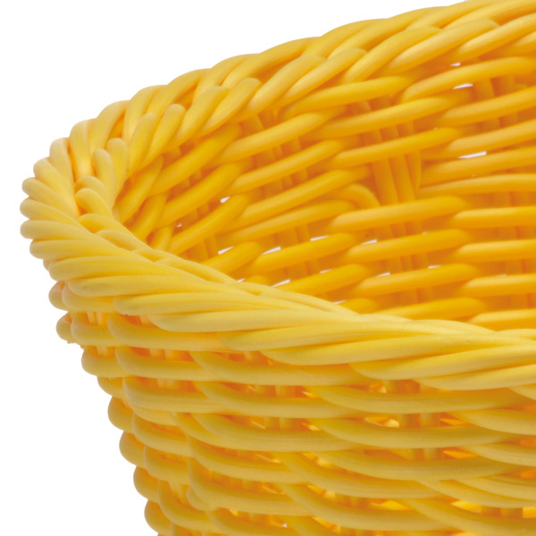 Корзина овальная Saleen BASKETS IN TREND COLOURS, 23,5х18х8 см, желтый Saleen 020961 471 фото 1