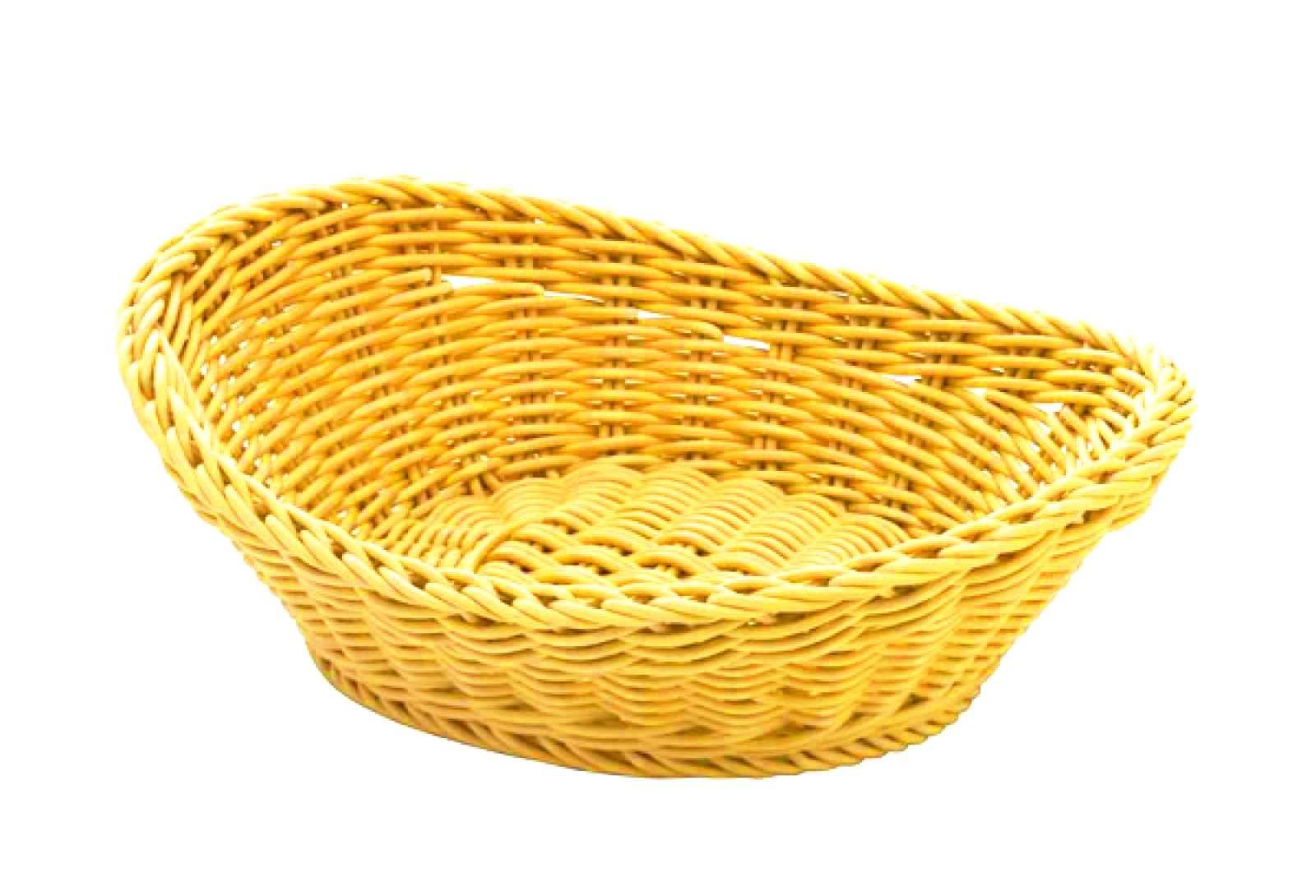 Онлайн каталог PROMENU: Корзина овальная Saleen BASKETS IN TREND COLOURS, 23,5х18х8 см, желтый Saleen 020961 471