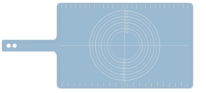 Коврик для теста с мерными делениями roll-up Joseph Joseph, 38x58 см, голубой Joseph Joseph 20097 фото 2