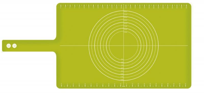 Коврик для теста с мерными делениями roll-up Joseph Joseph, 38х58 см, зеленый Joseph Joseph 20031 фото 3