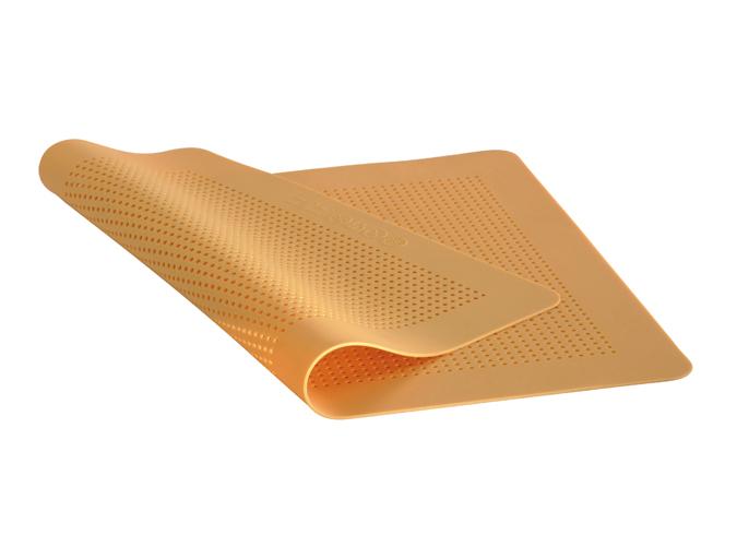 Онлайн каталог PROMENU: Коврик для выпечки перфорированный, силиконовый с антипригарным покрытием de Buyer, 40 х 30 см                               4933.40