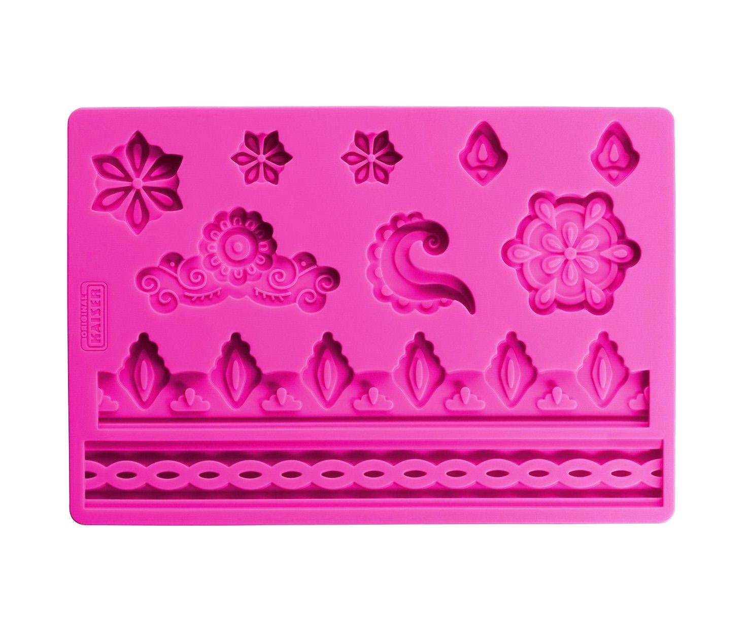 Онлайн каталог PROMENU: Коврик кондитерский для декорирования Kaiser Backform INSPIRATION, 20х13,5 см, фиолетовый                               23 0067 0096