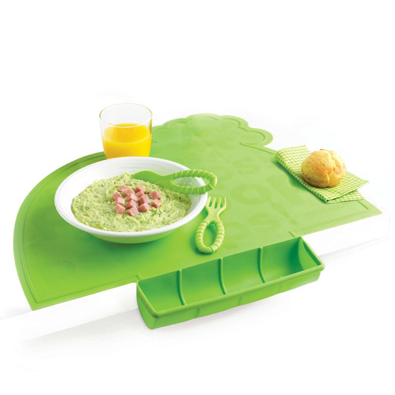 Онлайн каталог PROMENU: Коврик силиконовый детский с подставкой Mastrad BABY & KIDS, зеленый                               F52808