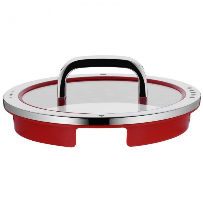 Ковш с крышкой WMF FUNCTION 4, объем 1,4 л, серебристый с красным WMF 07 6316 6380 фото 2