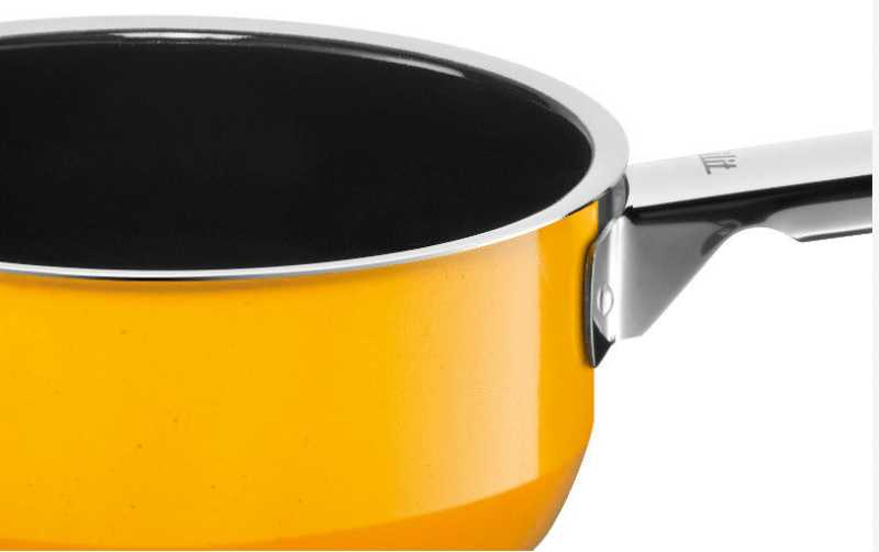 Ковш с ручкой Silit PASSION YELLOW, объем 1,3 л, диаметр 16 см, желтый Silit 21 0429 8168 фото 1