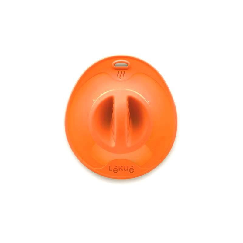 Онлайн каталог PROMENU: Крышка силиконовая Lekue LIDS, 10,5х14,5х2,5 см, оранжевый Lekue 1270510N07U002