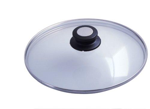 Онлайн каталог PROMENU: Крышка стеклянная de Buyer Choc Extreme, диаметр 28 см, прозрачный                               4112.28