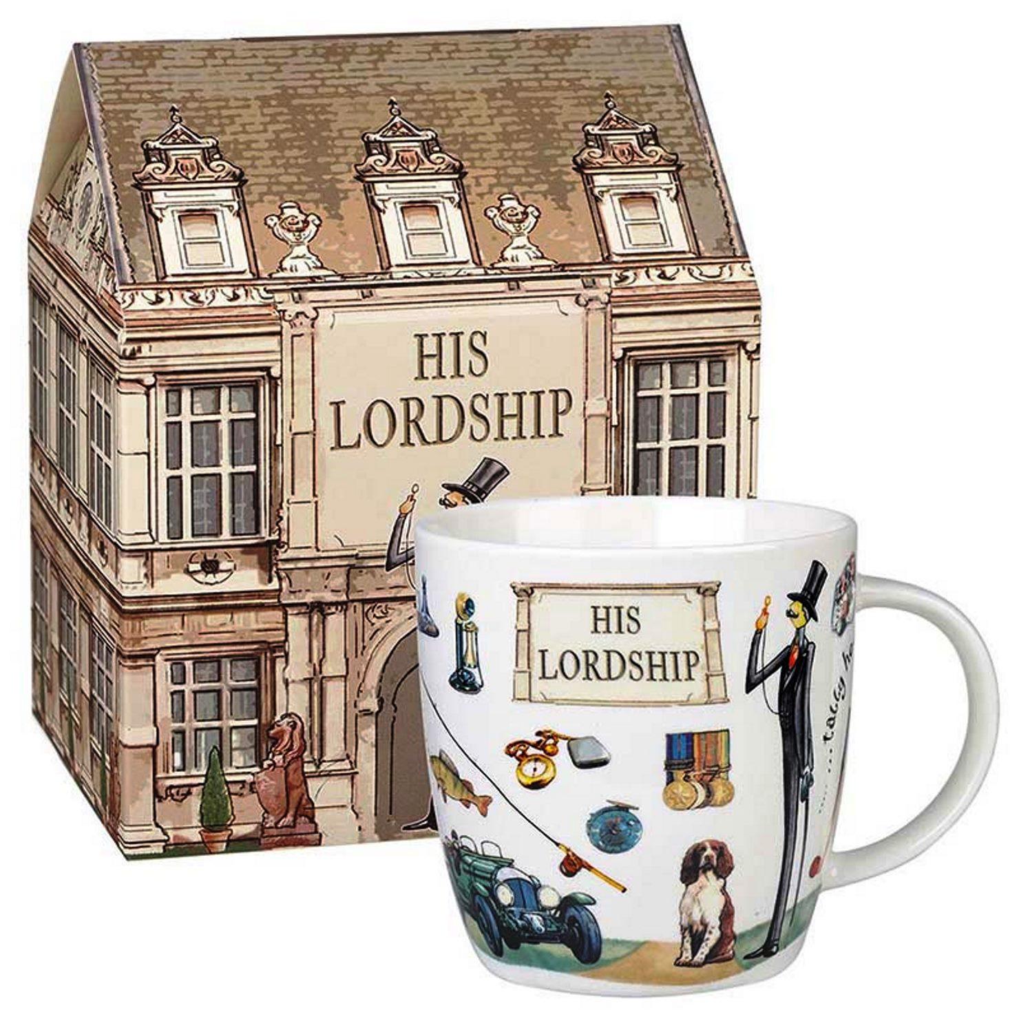 Онлайн каталог PROMENU: Кружка фарфоровая в подарочной упаковке Churchill AT YOUR LEISURE SQUASH, объем 0,4 л, белый                               YOUR00041