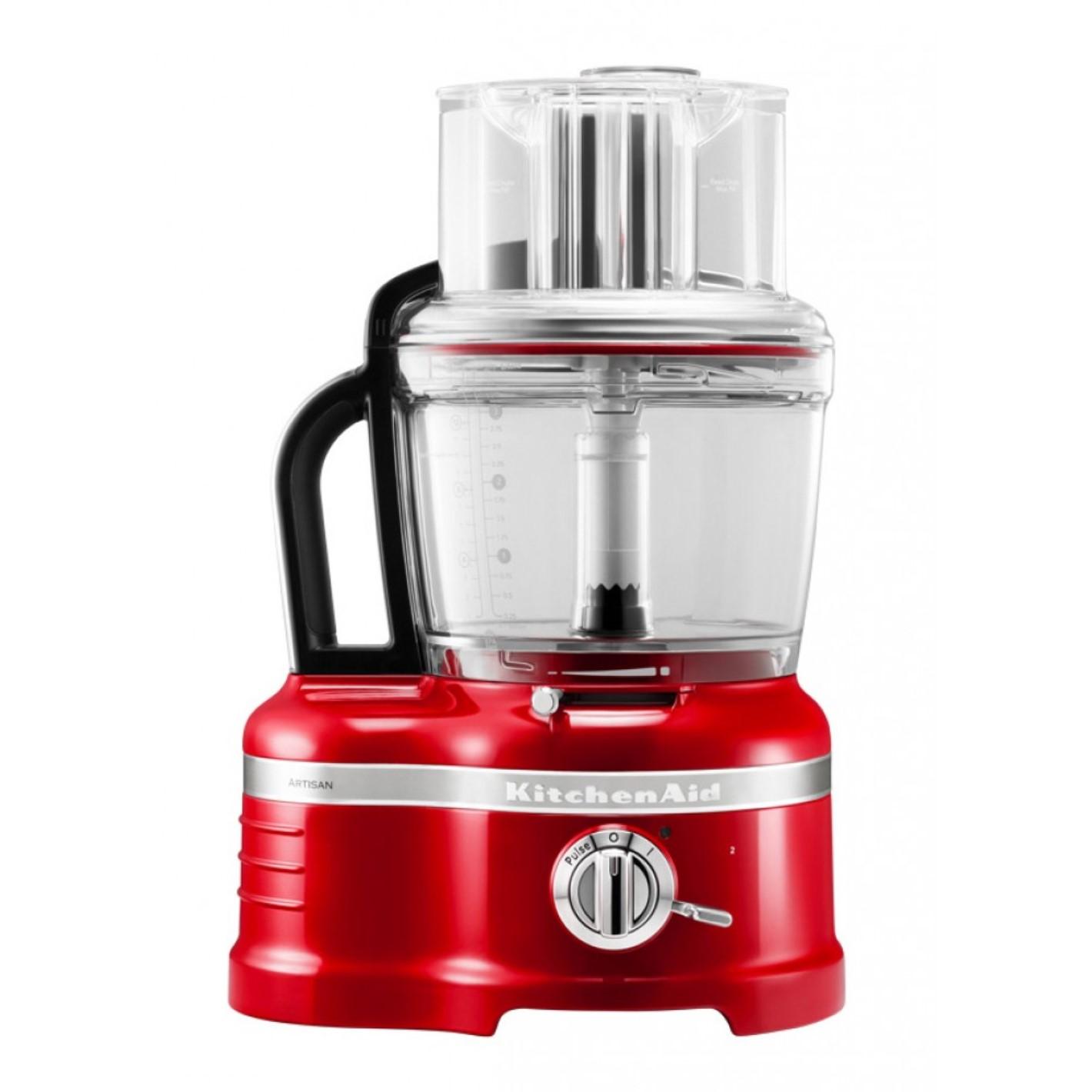 Онлайн каталог PROMENU: Кухонный комбайн KitchenAid Artisan, объем 4 л, красный                                   5KFP1644EER PR