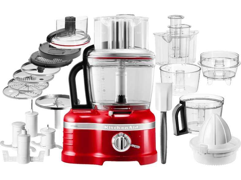 Кухонный комбайн KitchenAid Artisan, объем 4 л, красный KitchenAid 5KFP1644EER фото 1