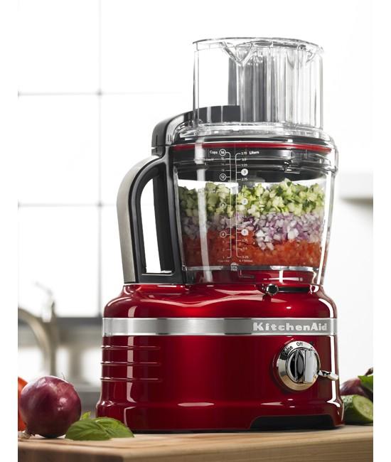 Кухонный комбайн KitchenAid Artisan, объем 4 л, красный KitchenAid 5KFP1644EER фото 2