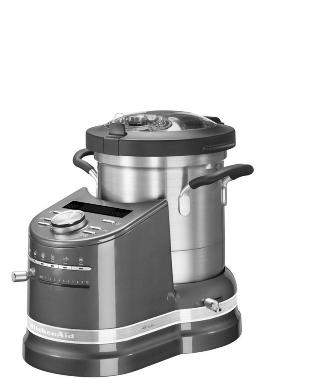 Онлайн каталог PROMENU: Кулинарный процессор KitchenAid Artisan, объем 4,5 л, серый                                   5KCF0103EMS