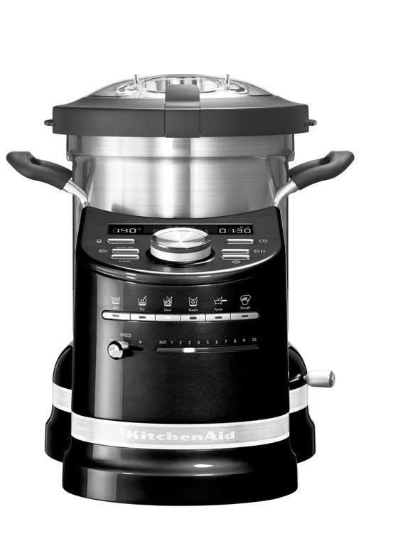 Кулинарный процессор KitchenAid Artisan, объем 4,5 л, черный KitchenAid 5KCF0103EОВ фото 1