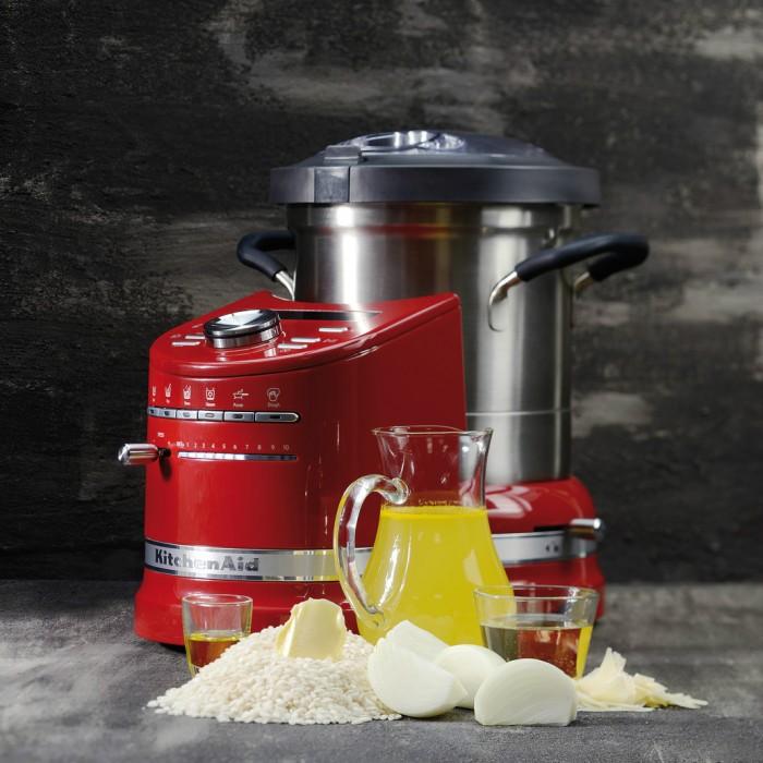 Кулинарный процессор KitchenAid Artisan, объем 4,5 л, красный KitchenAid 5KCF0103EER фото 6
