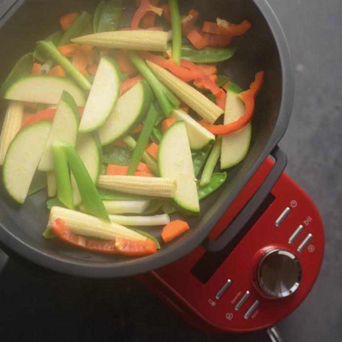 Кулинарный процессор KitchenAid Artisan, объем 4,5 л, красный KitchenAid 5KCF0103EER фото 7