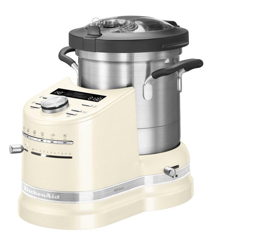 Онлайн каталог PROMENU: Кулинарный процессор KitchenAid Artisan, объем 4,5 л, кремовый                                   5KCF0103EАС