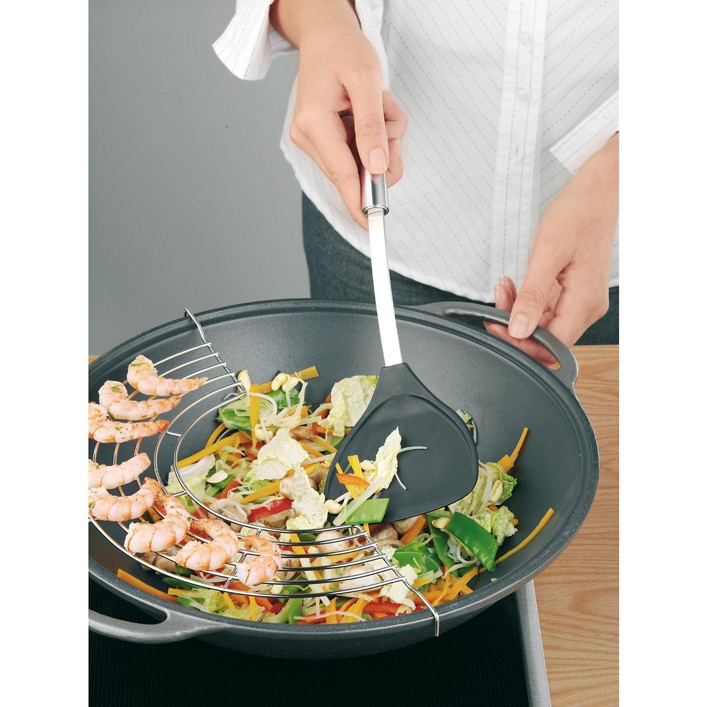 Лопатка кухонная WMF PROFI PLUS, длина 35 см, черный с серебристым WMF 18 7496 6030 фото 1