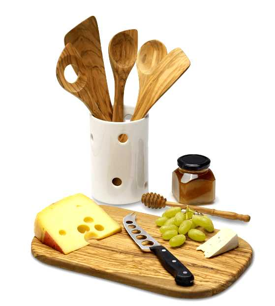 Ложка кухонная Continenta Olive, 30 см Continenta 4921 фото 2