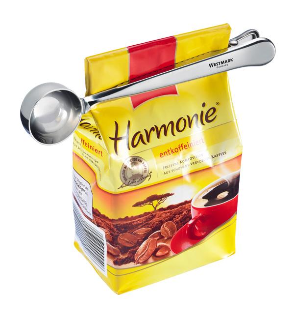 Онлайн каталог PROMENU: Ложка мерная для кофе с клипсой Westmark, 18 см                               1538 2270