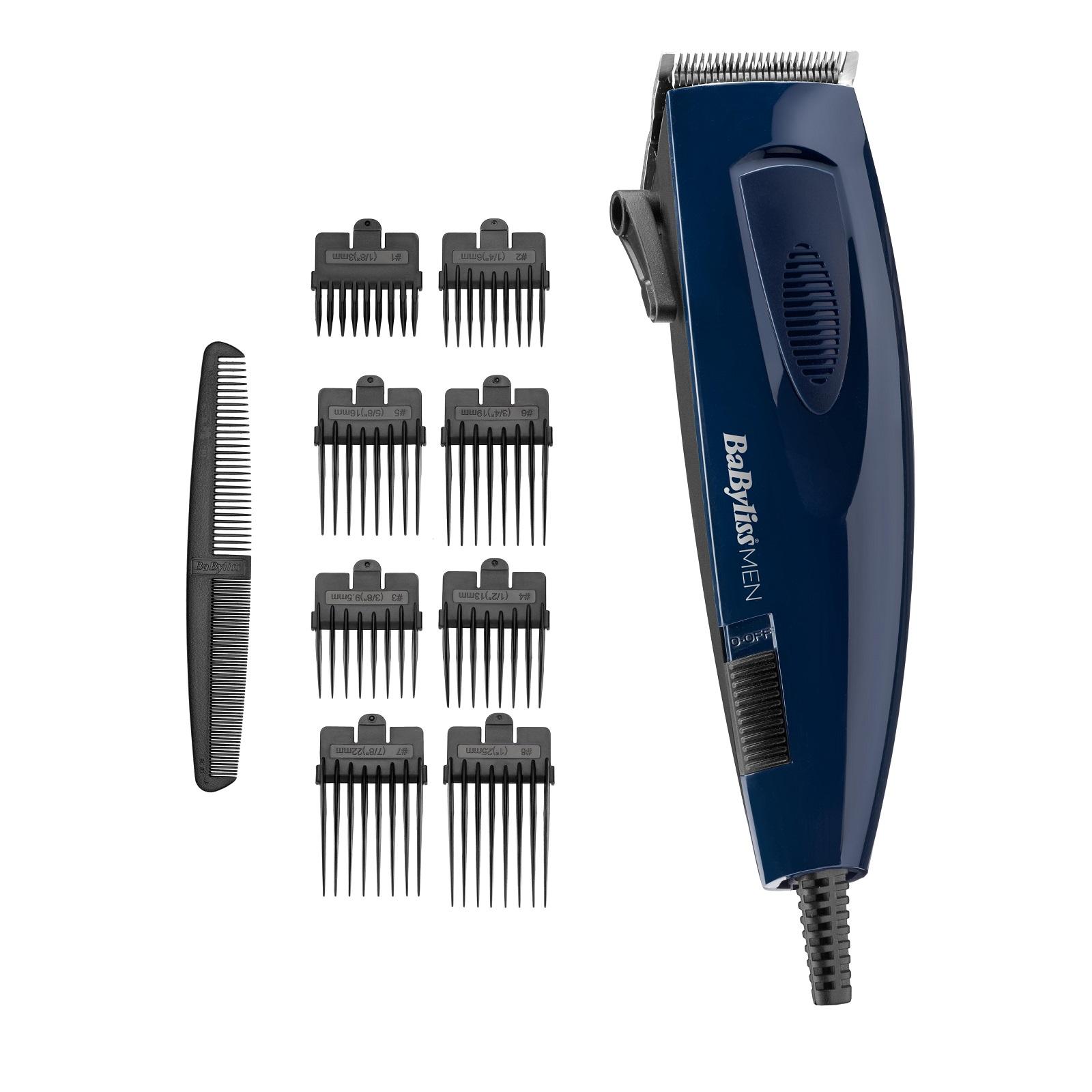 Онлайн каталог PROMENU: Машинка для стрижки волос проводная BaByliss, ярко-синий Babyliss E695E