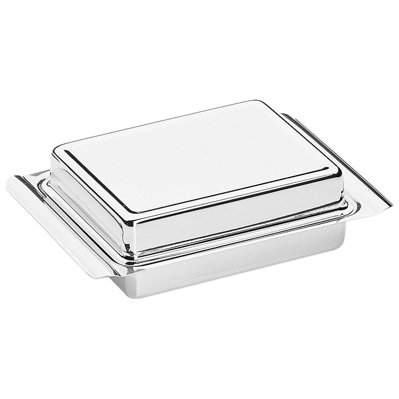 Масленка с крышкой WMF, 15х10,5х4,5 см, серебристый WMF 06 0911 6040 фото 2