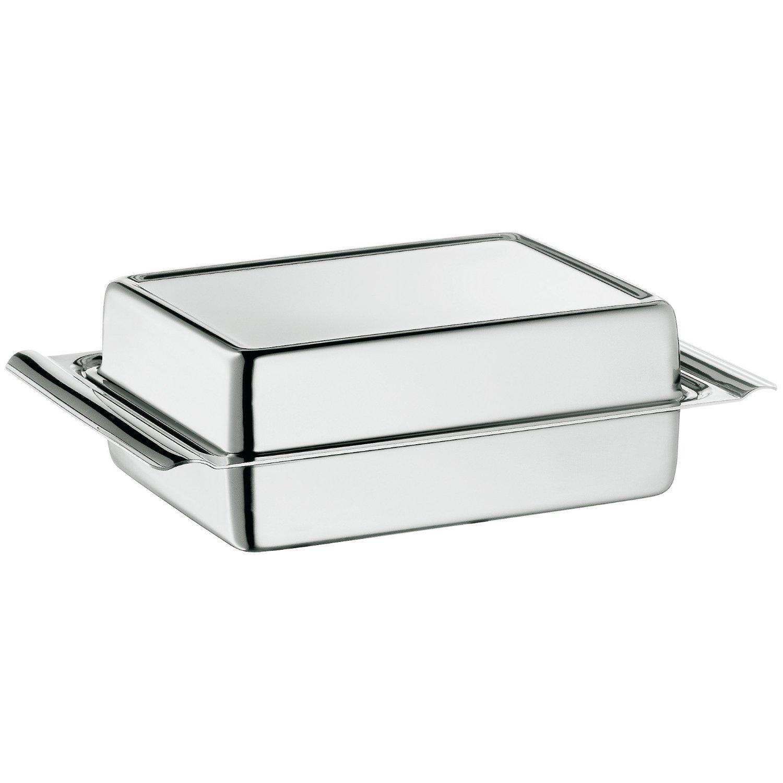 Онлайн каталог PROMENU: Масленка с крышкой WMF, 15х10,5х4,5 см, серебристый WMF 06 0911 6040