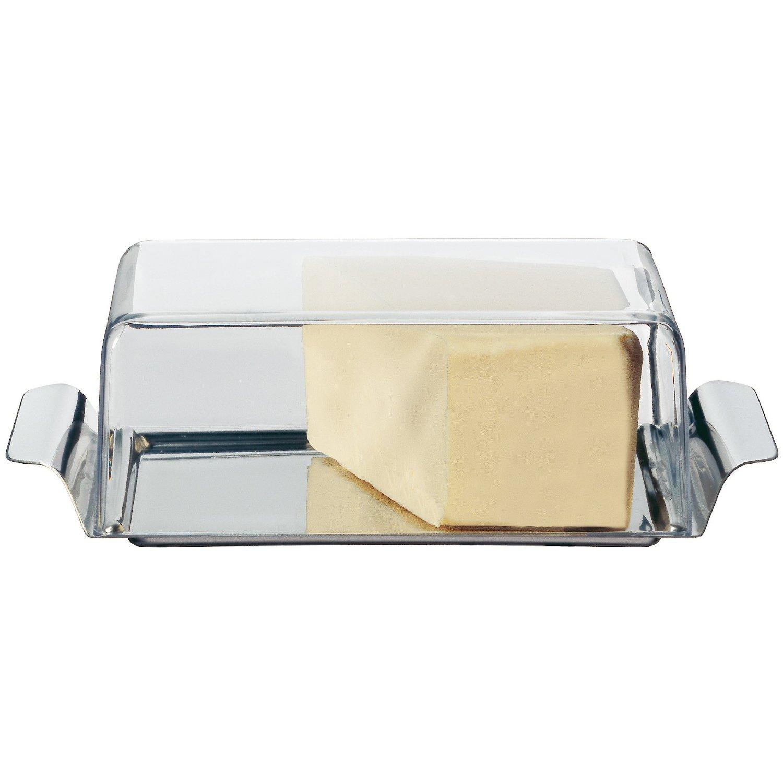 Масленка с крышкой WMF, 15x8,5 см, прозрачный WMF 06 0947 6030 фото 1