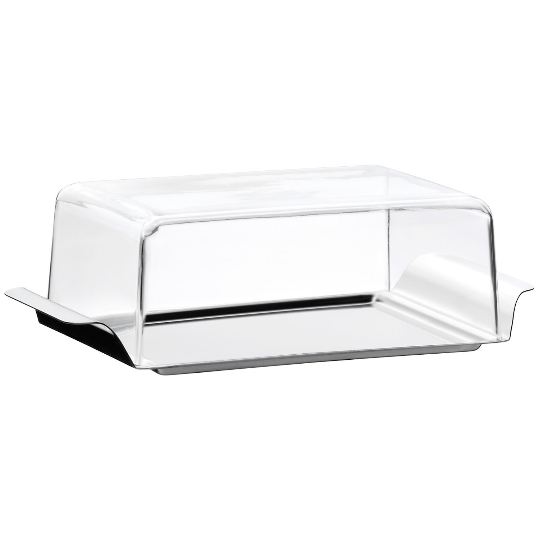 Масленка с крышкой WMF, 15x8,5 см, прозрачный WMF 06 0947 6030 фото 0