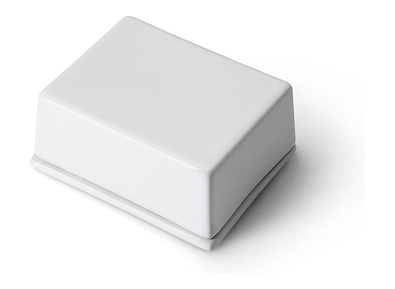 Масленка керамическая с крышкой Continenta, 12х10х6 см Continenta 3926 фото 3