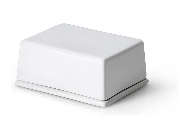 Масленка керамическая с крышкой Continenta, 12х10х6 см Continenta 3926 фото 0