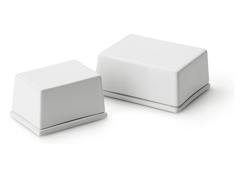 Масленка керамическая с крышкой Continenta, 12х10х6 см Continenta 3926 фото 2