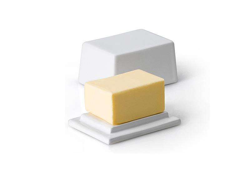 Масленка керамическая с крышкой Continenta, 12х10х6 см Continenta 3926 фото 4