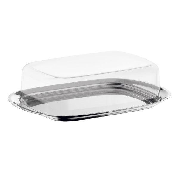 Онлайн каталог PROMENU: Масленка с крышкой WMF BREAKFAST AND BRUNCH, 17,5х11,5 см, прозрачный WMF 06 0931 6040