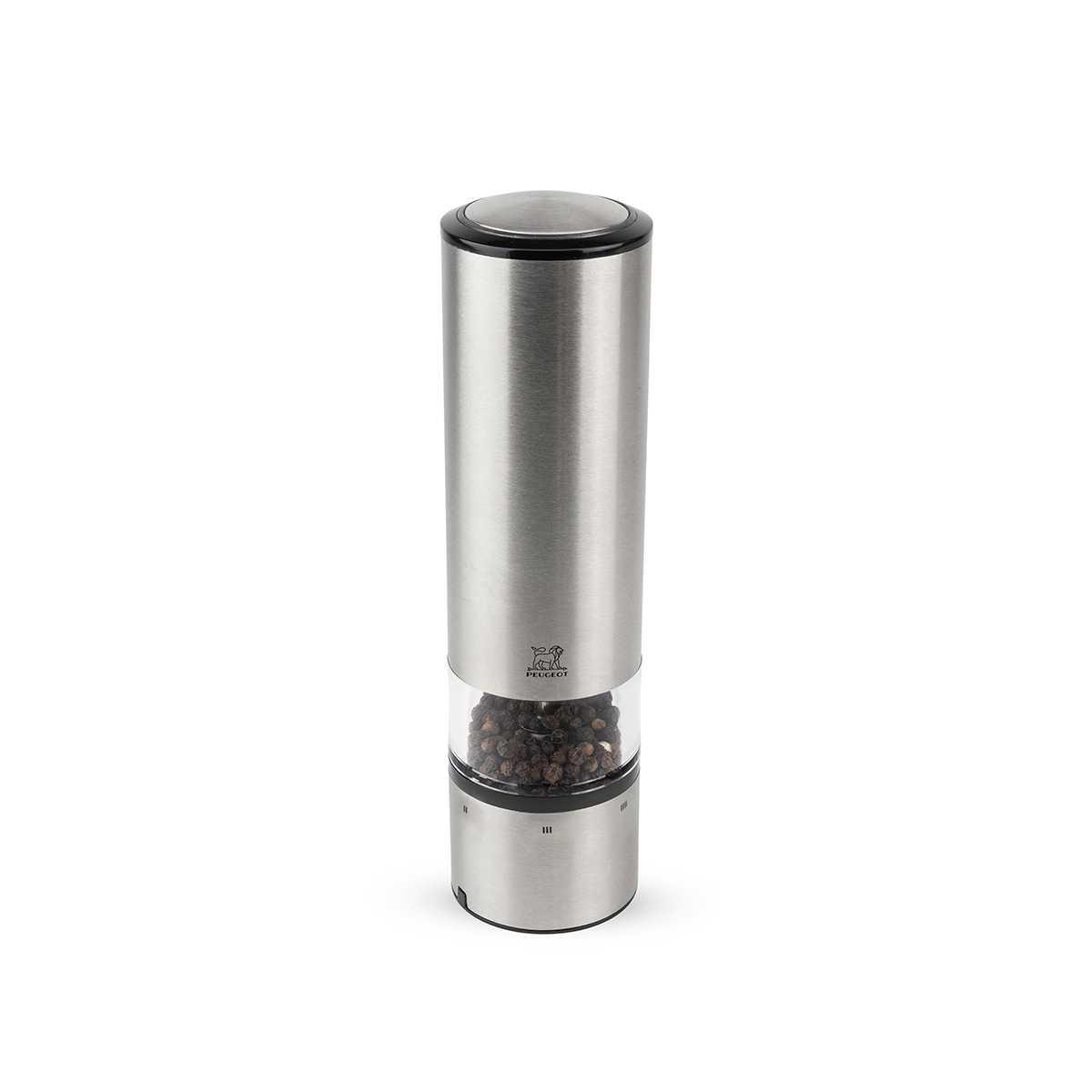 Онлайн каталог PROMENU: Мельница электрическая для перца Peugeot Elis Sense, высота 20 см, серебристый Peugeot 27162