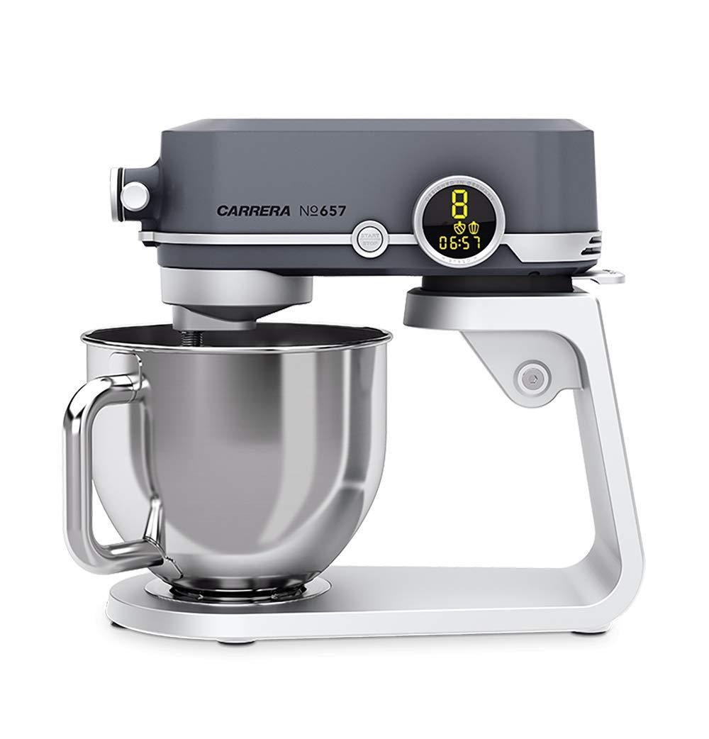 Онлайн каталог PROMENU: Машина кухонная Carrera №657, объем 5 л, 800 Вт, антрацит                               18476011
