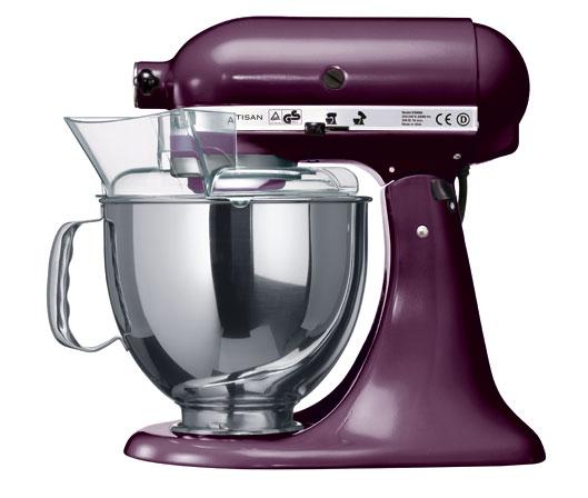 Миксер планетарный KitchenAid Artisan, объем чаши 4,83 л, фиолетовый KitchenAid 5KSM150PSEВY фото 1