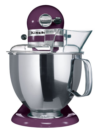 Миксер планетарный KitchenAid Artisan, объем чаши 4,83 л, фиолетовый KitchenAid 5KSM150PSEВY фото 2