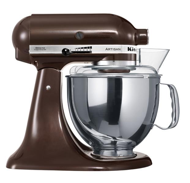 Онлайн каталог PROMENU: Миксер планетарный KitchenAid Artisan, объем чаши 4,83 л, кофе эспрессо KitchenAid 5KSM150PSEES