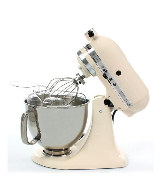 Миксер планетарный KitchenAid Artisan, объем чаши 4,83 л, кремовый KitchenAid 5KSM150PSEAC фото 2