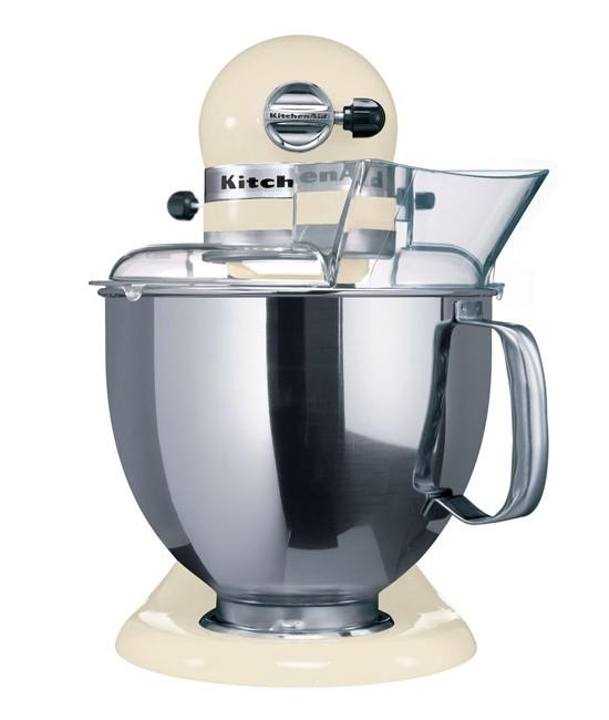 Миксер планетарный KitchenAid Artisan, объем чаши 4,83 л, кремовый KitchenAid 5KSM150PSEAC фото 1