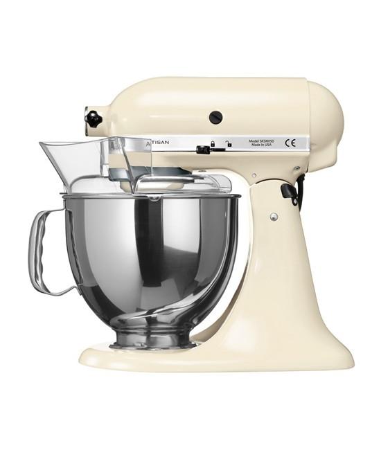 Миксер планетарный KitchenAid Artisan, объем чаши 4,83 л, кремовый KitchenAid 5KSM150PSEAC фото 3