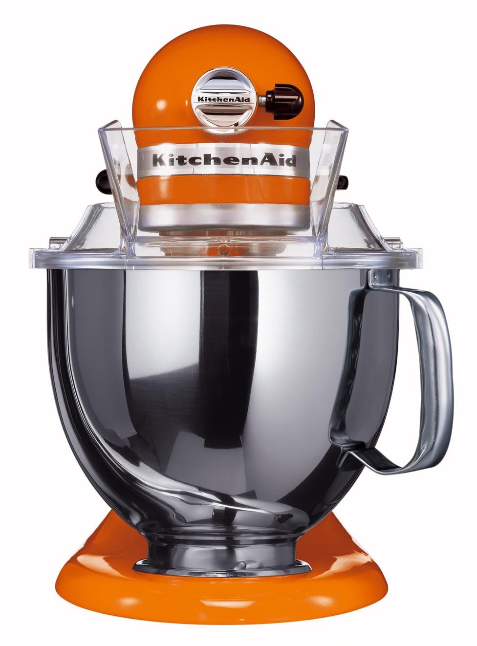 Миксер планетарный KitchenAid Artisan, объем чаши 4,83 л, мандариновый KitchenAid 5KSM150PSETG фото 1
