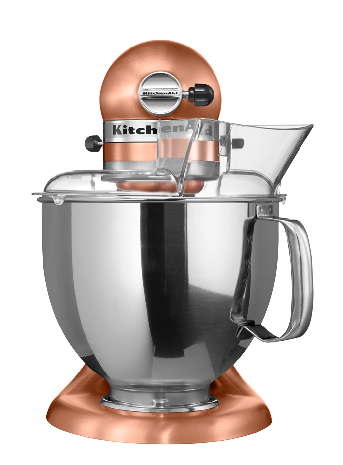 Миксер планетарный KitchenAid Artisan, объем чаши 4,83 л, медный KitchenAid 5KSM150PSECP фото 2