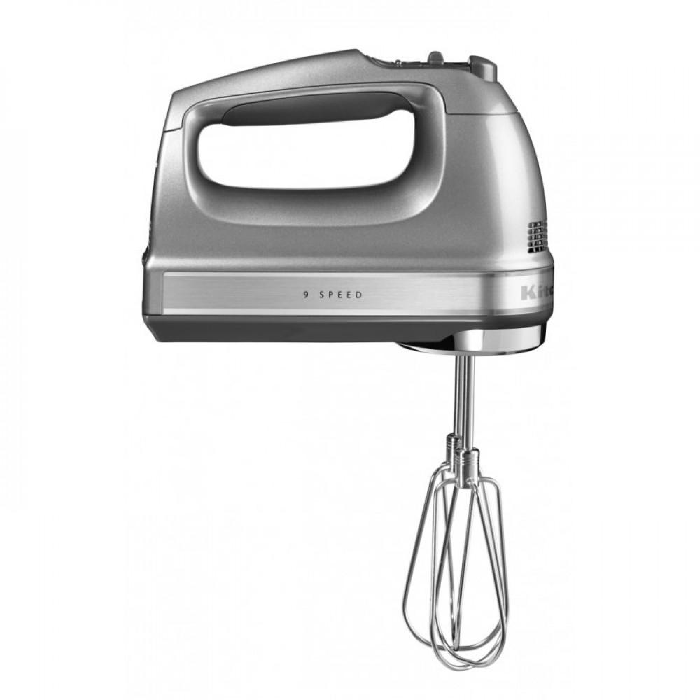 Онлайн каталог PROMENU: Миксер ручной KitchenAid, серебристый                               5KHM9212ECU
