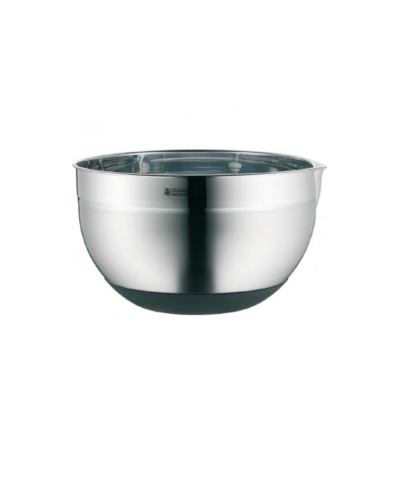 Онлайн каталог PROMENU: Миска WMF FOOD PREP AND STORAGE, диаметр 24 см, серебристый WMF 06 4660 6030