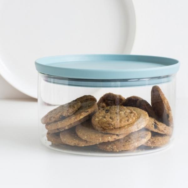 Модульная стеклянная банка для сыпучих продуктов Brabantia, объем 2,5 л Brabantia 110641 фото 3