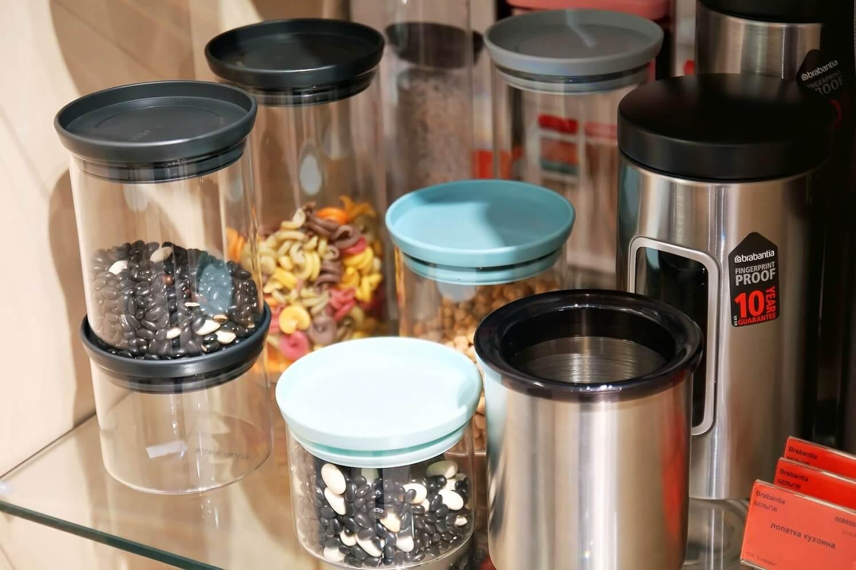 Модульная стеклянная банка для сыпучих продуктов Brabantia, объем 2,5 л Brabantia 110641 фото 5