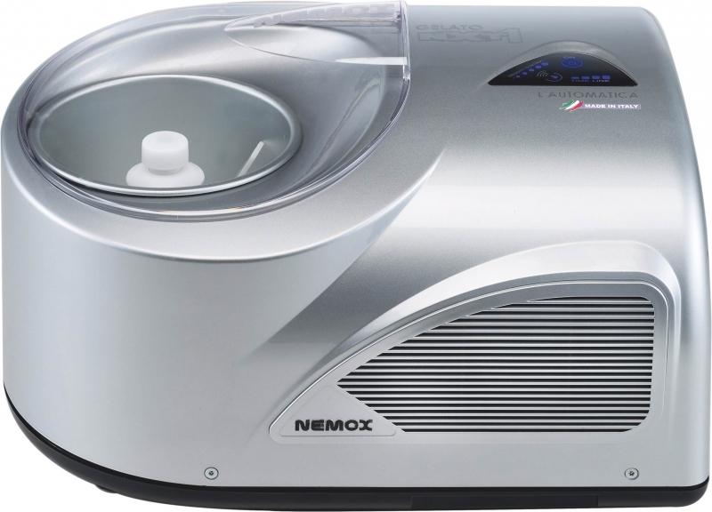 Онлайн каталог PROMENU: Мороженица автомат NXT1 Nemox, 23,5х38,5х26,5 см, серебро Nemox 0036600960