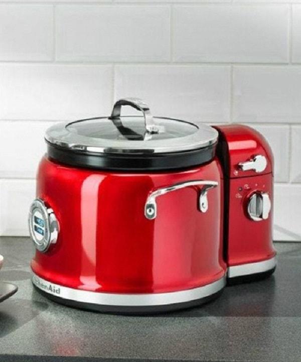 Мультиварка с устройством для перемешивания KitchenAid, красный KitchenAid 5KMC4244EER фото 1